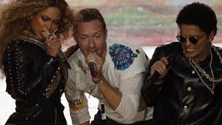 Coldplay, Beyonce, Mars Play Super Bowl
