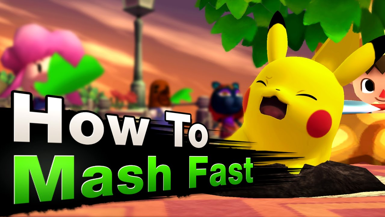 Smash 4 Wii U - How to mash FAST!