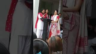Assamese Actress Funny  answers on her college election debate !!