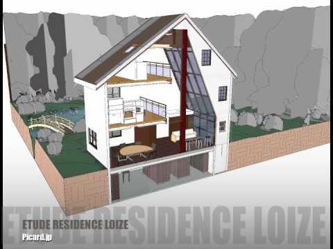 Animation 3d d 39 un projet revit architecture r sidence for Projet 3d maison