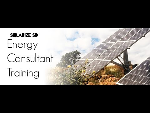 Solarize SD: Energy Consultant Training Part II