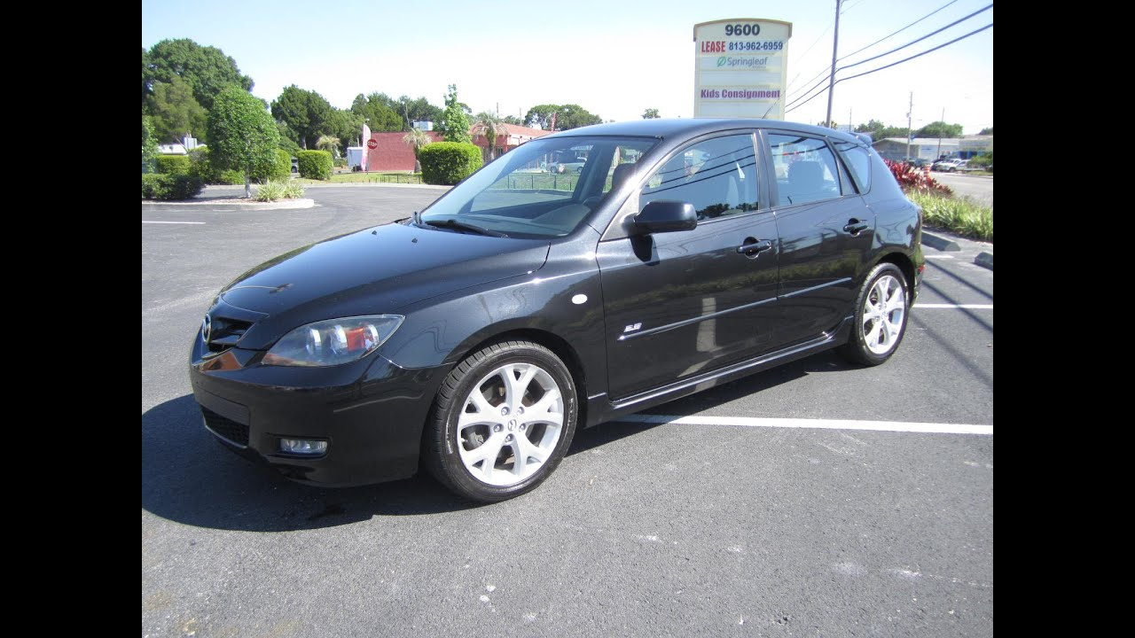 sold 2008 mazda 3 s hatchback 2 3 meticulous motors inc florida for sale youtube. Black Bedroom Furniture Sets. Home Design Ideas