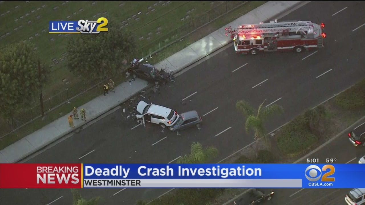 1 Dead, 3 Critical Following Multi-Vehicle Crash In Westminster