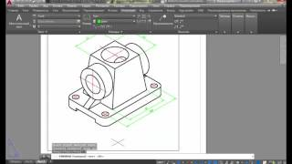 [AutoCAD] Нанесение размеров в изометрии