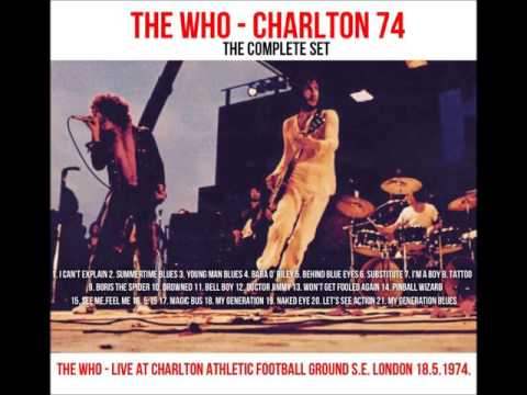 THE WHO...LIVE AT CHARLTON 1974 - COMPLETE SET