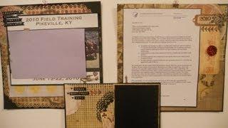 Scrapbook process - Triple layout