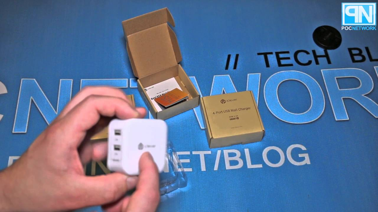 Iclever Quick Charge And High Amperage Usb Wall Chargers Unboxing Poc Network