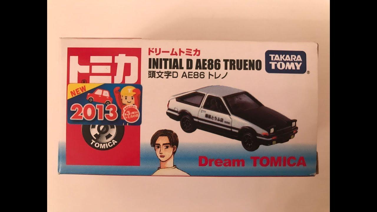 Takara Tomy Tomica Dream Initial D Ae86 Trueno By Skyline Gt Rr32 No 141 Manchildultimate
