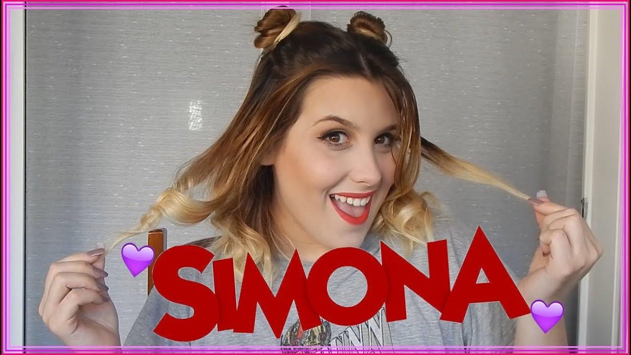 Maquillaje Y Peinado Inspirado En Simona Angela Torres Bian