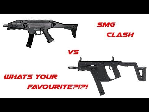 Clash Of The Fans Asg Evo Vs Krytac Vector Parody Youtube