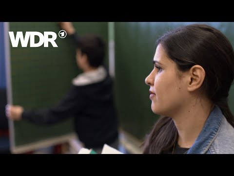 Donya als Lehrerin an der Gesamtschule Duisburg-Marxloh | WDR