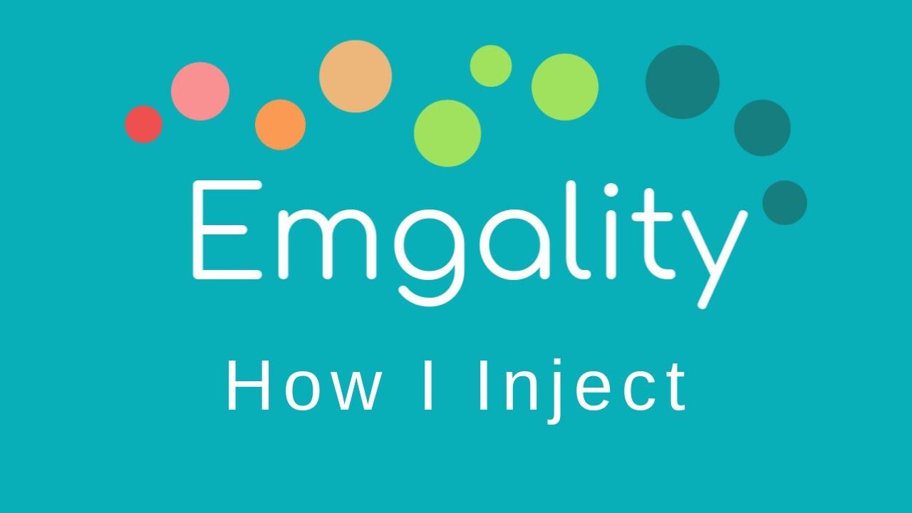 How to Inject Emgality Syringe!