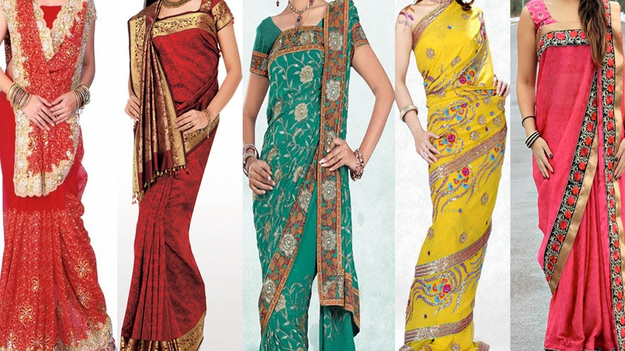 Different types of wearing a saree according to your body style-Telugu fashion news Nov 2019