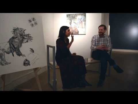 Kymia Nawbi Artist Talk, Abmeyer + Wood Fine Art, Seattle WA
