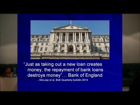 Fractional reserve banking - why it's a disaster.