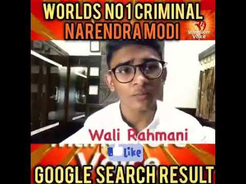 Number 1 Criminal Of World
