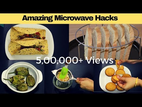 Amazing Microwave Food Hacks | Microwave Tips & Tricks | Easy Microwave Recipes | Urban Rasoi