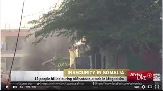 Al-Shabaab attack a hotel in Mogadishu