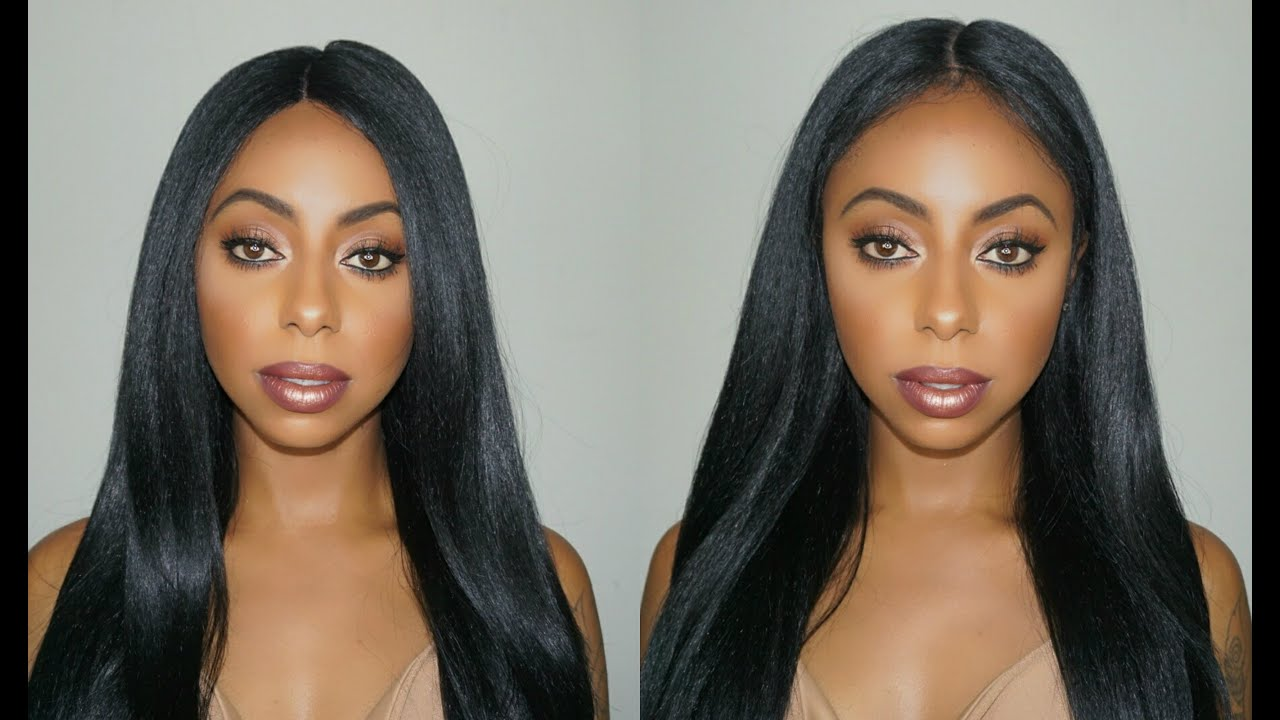 how to make a lace front wig look natural jessica