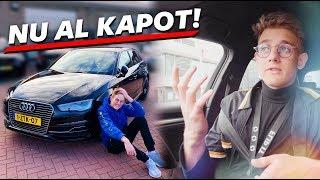 NIEUWE AUTO NU AL KAPOT! :( | Auto