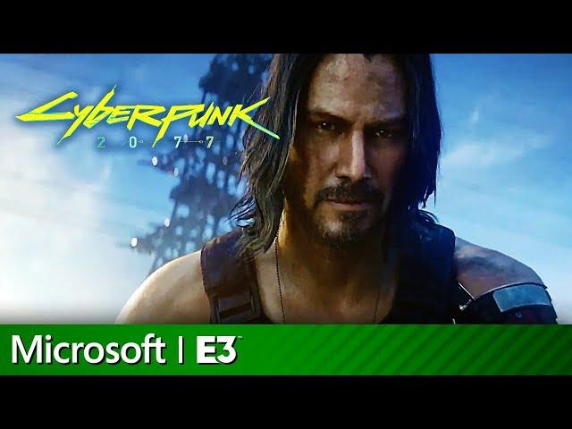 Cyberpunk 2077 Full Presentation with Keanu Reeves   Microsoft Xbox E3 2019