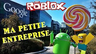 ROBLOX ON CONSTRUIT L'USINE GOOGLE !!!