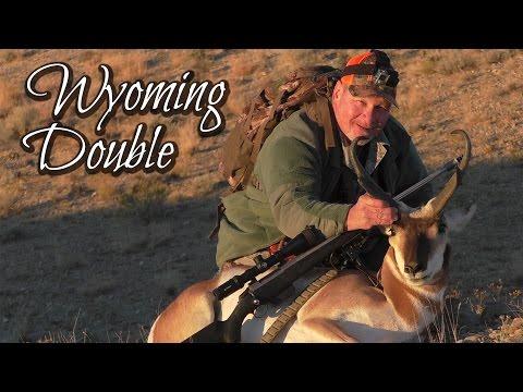 """Wyoming Double"" 2016 Antelope Hunt"