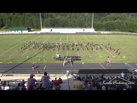 PHS Pride of Pickens Band Exhibition 2015