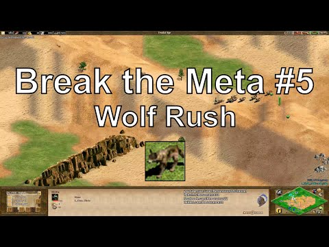 "Aoe2 ""Break the Meta"" #5: Wolf Rush"
