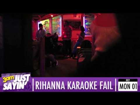 Rihanna suffers embarrassing karaoke fail: Simon Cowell's verdict - Just Sayin'