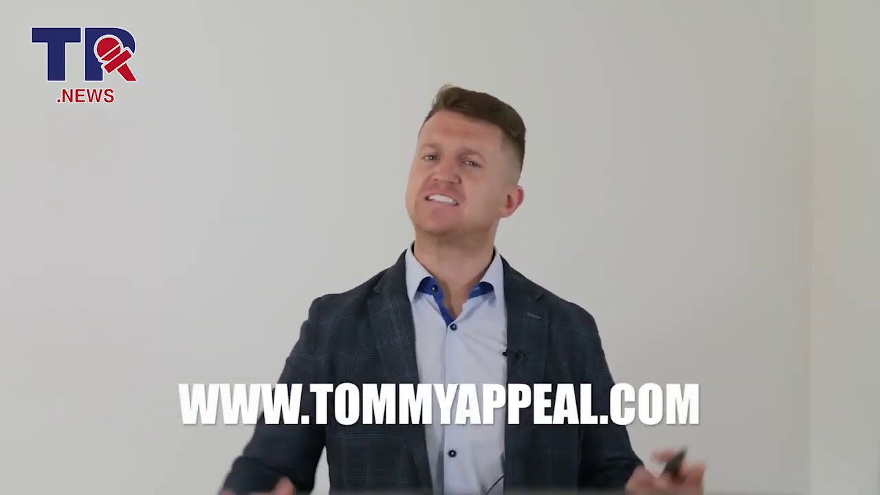 "Tommy Robinson's ""Last Message"" before being sentenced FreeTommy PoliticalPrisoner WeMustAct"