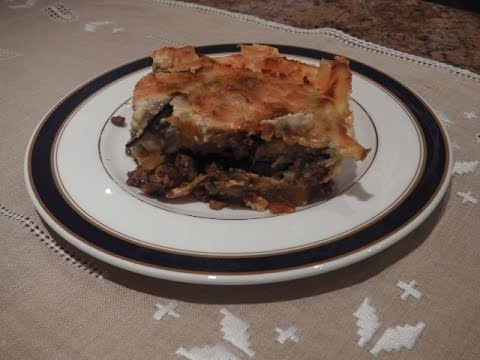 MOUSSAKA - STAVROS' KITCHEN - GREEK AND CYPRIOT CUISINE