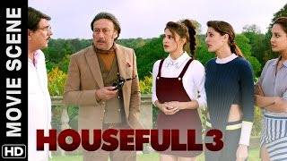 Jackie makes Boman's house full | Housefull 3 | Movie Scene