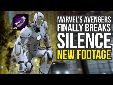 Marvel Avengers Gameplay - New Footage & Big Details After Months Of Silence (Avengers Project)
