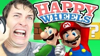 SUPER MARIO BROS - Happy Wheels
