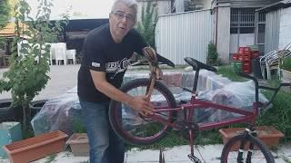How to add a second seat to your bicycle - Κατασκευή διπλής σέλας στο ποδηλατο