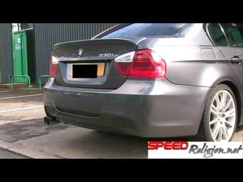 BMW E90 330i with BMW Performance Exhaust  YouTube
