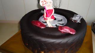 Торт колесо /  Сake wheel