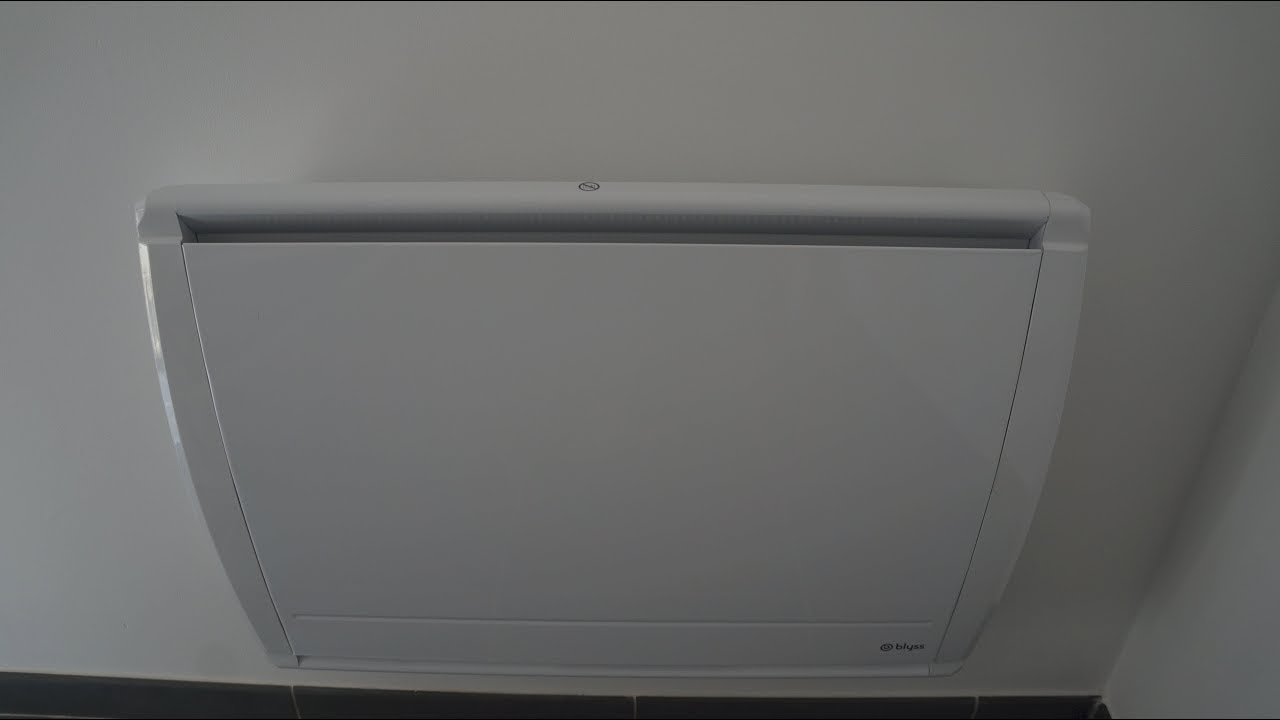 comment installer un radiateur inertie youtube. Black Bedroom Furniture Sets. Home Design Ideas