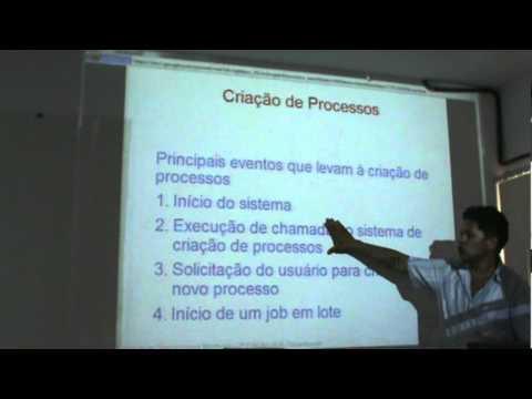 Aula Sistemas Operacionais I (Processos) Cap 2 Tanembaum parte 1