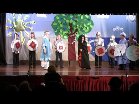 3. Сказка о Мёртвой Царевне и о Семи Богатырях (Школьный концерт 2014)