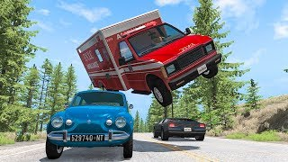 Realistic Traffic Crashes #1 - BeamNG DRIVE | SmashChan