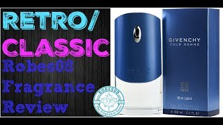 Givenchy Pour Homme Blue Label by Givenchy Fragrance Re-Review (2004) | Retro Series