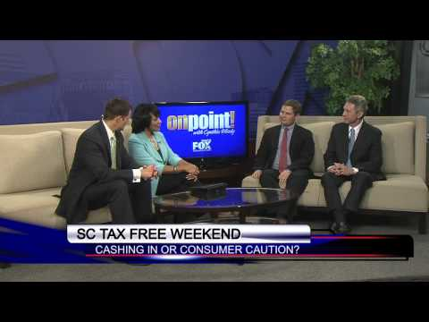OnPoint on WACH Fox: SC tax-free weekend and the economy