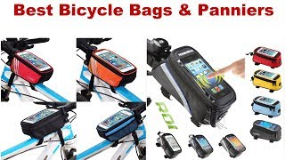 Best Bicycle Bags & Panniers | Best bike trunk bag | Bike rear rack basket | Best bike panniers