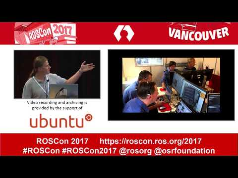 ROSCon 2017 Vancouver Day 2 ROS for Search and Rescue Robotics Tools and Lessons learned during TRAD