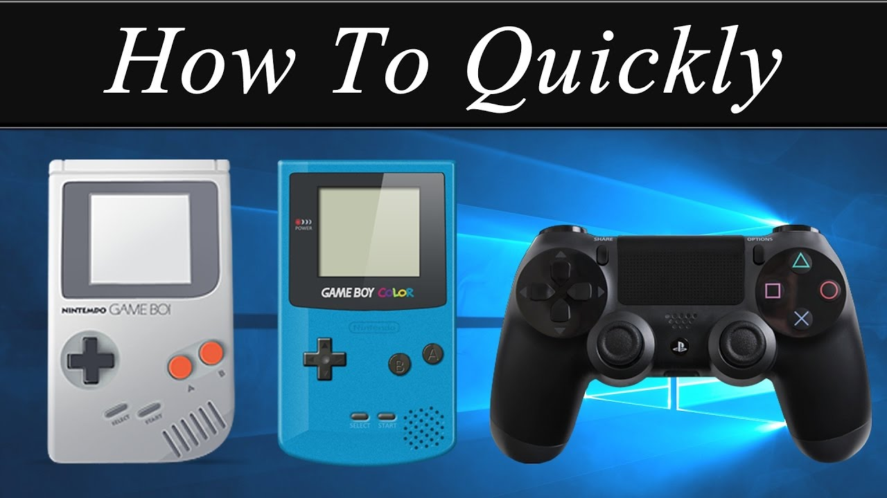 Gameboy color emulators - How To Quickly Play Gameboy Colour Advance Games On Pc Keyboard Or Controller