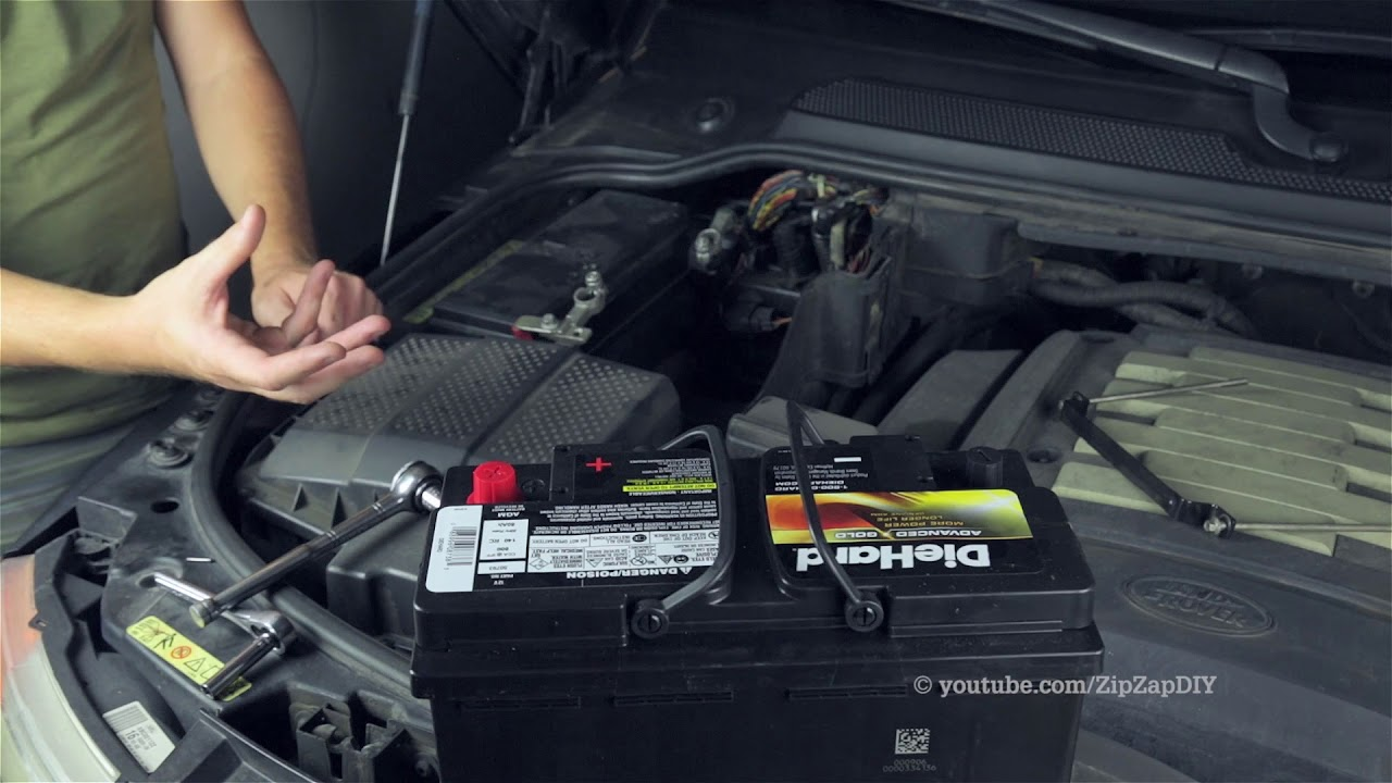 Land Rover Battery / HDC Fault System Not Available