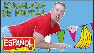 ensalada-de-frutas-aprender-con-steve-and-maggie-espaol-latino
