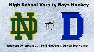 Darien Varsity Boys Hockey vs. Notre Dame-West Haven